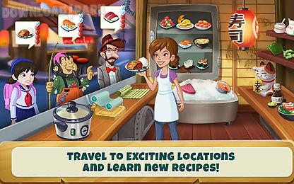 kitchen scramble: cooking game