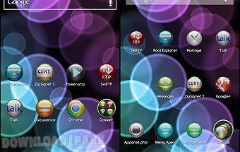 Sphere theme go/apex/nova hd