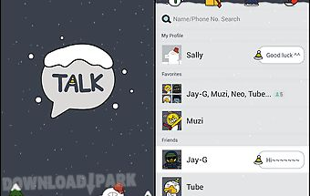 Winter story - kakaotalk theme