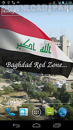 3d iraq flag live wallpaper