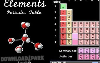 Elements - periodic table