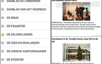 Kranten en tijdschriften nl