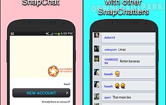 Chat room for snapchat