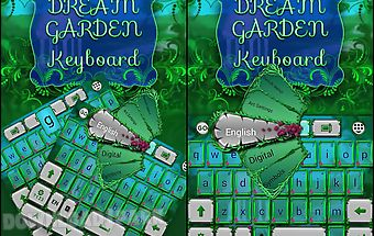Dream garden keyboard