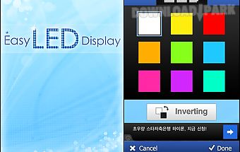 Easy led display