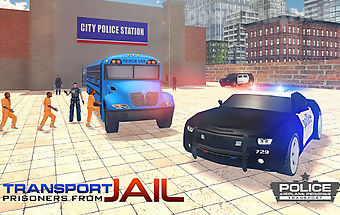 Jail prisoner transport flight