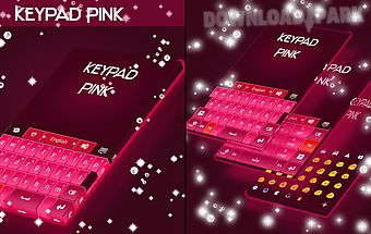 Keypad pink