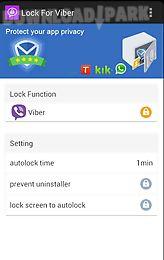 lock for viber