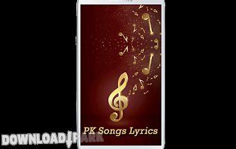 Pk songs lyrics