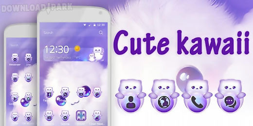 cute kawaii theme