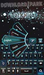 dark night go keyboard