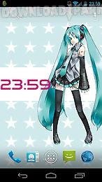 hatsune miku live wallpaper