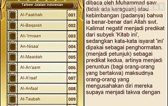 Tafsir al-jalalayn indonesian