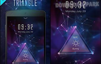 Triangle go dynamic theme