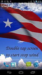 3d puerto rico flag lwp