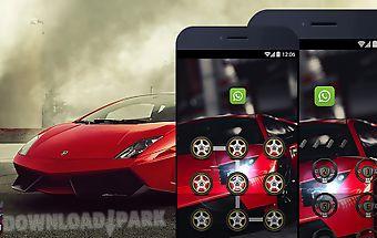 Applock theme - lamborghini