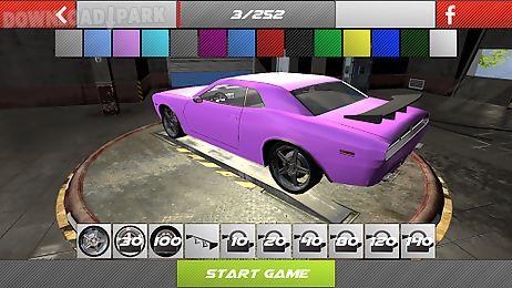 drift 3d modified american car
