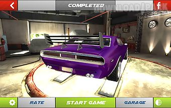 Drift 3d modified american car