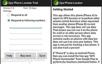 Gps phone locator trial