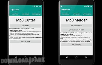 Mp3 editor,merger & cutter