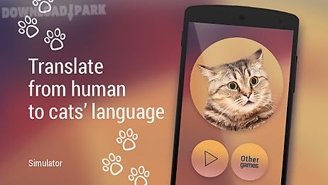 translator for cats simulator