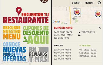 Burger king® puerto rico