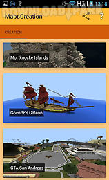 Creation maps for minecraft Android Anwendung Kostenlose ... on