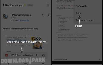 Hp print service plugin
