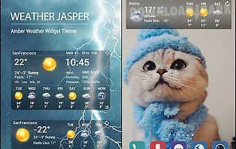 Temperature & weather forecast