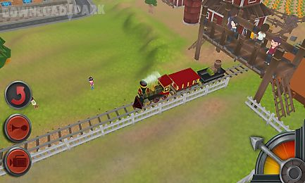 3d train game for kids Android Game free download in Apk
