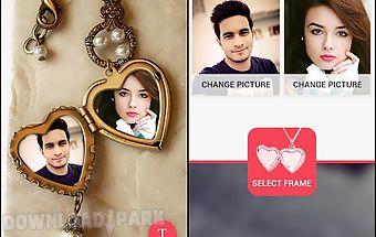 Beauty plus locket frame