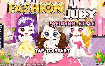 Fashion judy: wedding style