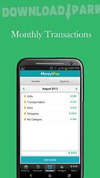 moneywise free budget expense