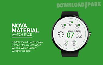 Nova material watch face -free