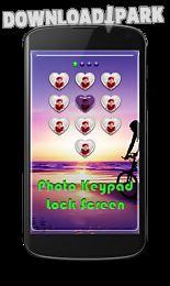 photo keypad lock screen