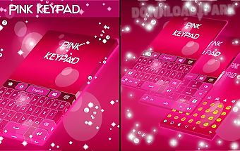 Pink keypad for galaxy s4 mini