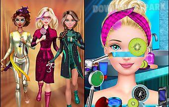 Spy salon - girls games