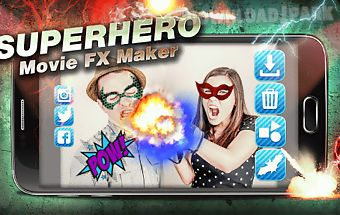 Superhero movie fx maker