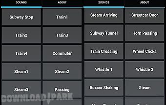 Train sounds and ringtones