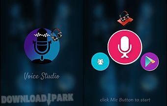 Voice studio