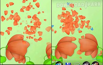 Blooming flower live 3d wallpape..