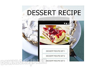Dessert recipes food