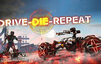 Drive-die-repeat: zombie game