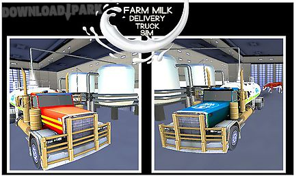 farm milk delivery truck sim