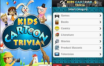 Kids cartoon trivia