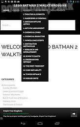 lego batman 2 walkthroughs