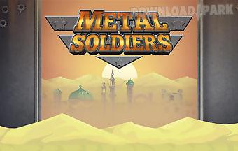 Metal soldiers