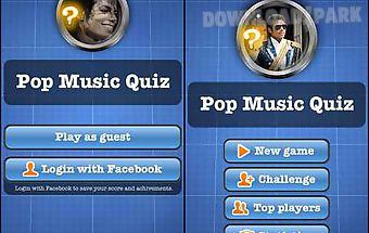 Pop music quiz free