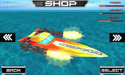 power boat: war race 3d