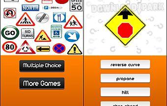 Usa traffic signs logo quiz